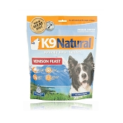 K9 Natural Venison Feast Raw Freeze-Dried Dog Food, 1.1 lb