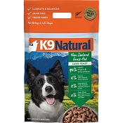 K9 Natural Lamb Feast Raw Freeze-Dried Dog Food, 4-lb Bag