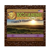 KC Canine Prairie Buffalo Recipe Soft  Jerky Training Dog Treats