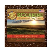 KC Canine Prairie Venison Soft  Jerky Training Dog Treats