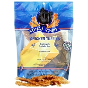 Kona's Chips Chicken Tuffies Jerky USA Dog Treats, 12-oz Bag