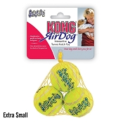 KONG AirDog Squeakair Balls Packs Dog Toy, Extra-Small
