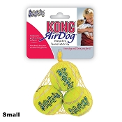 KONG AirDog Squeakair Balls Packs Dog Toy, Small