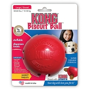 Kong Biscuit Ball Dog Toy, Large