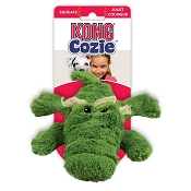 KONG Cozie Ali the Alligator Plush Dog Toy, Medium