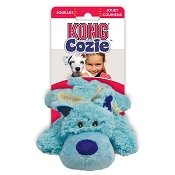 KONG Cozie Baily the Blue Dog Toy, Medium