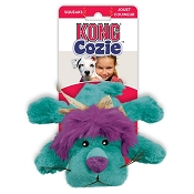 KONG Cozie King the Purple Haired Lion Dog Toy
