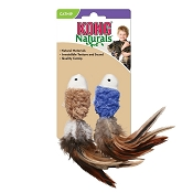 KONG Naturals Crinkle Fish Cat Toy