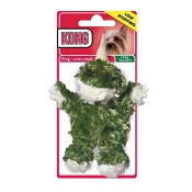 KONG Plush Frog Dog Toy, Extra Small