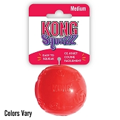 KONG Squeezz Ball Dog Toy, Medium