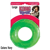 KONG Squeezz Ring Dog Toy, Large