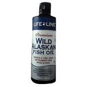 Life Line Wild Alaskan Fish Oil for Dogs & Cats, 16-oz Bottle