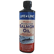 Life Line Wild Alaskan Salmon Oil for Dogs & Cats, 16-oz Bottle