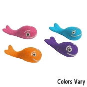 Lollycadoodle Boiled Wool Whale Dog Toys