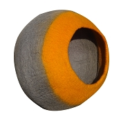 Lollycadoodle Wool Cat Cave, Orange