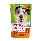 Look Who's Happy Chicken with Peas, Quinoa and Kale Long Jerky Stix Dog Treats, 10-oz Bag