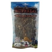 Loving Pets Pure Buffalo Meat Strips Jerky Dog Treats, 3.5-oz Bag