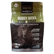 Majesty's Buddy Bites Skin + Coat Grain-Free Wafers Dog Supplement, Small 56 Count