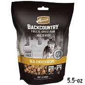 Merrick Backcountry Freeze-Dried Raw Real Chicken Recipe Grain-Free Dog Food, 5.5-oz Bag