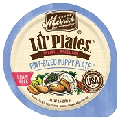 Merrick Lil' Plates Grain-Free Pint-Sized Puppy Plate in Gravy Dog Food Trays, 3.5-oz, case of 12
