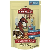 My Little Wolf Pork Pleaser Grain-Free Dog Treats, 5.29-oz Bag