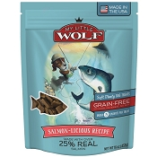 My Little Wolf Salmon-Licious Grain-Free Dog Treats, 16-oz Bag