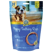 N-Bone USA Grain-Free Chicken Flavored Puppy Teething Ring Treats, 6 Count