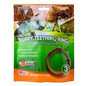 N-Bone USA Pumpkin Flavored Puppy Teething Ring Treats, 3 Count