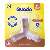 N-Bone USA Quado Peanut Butter Flavored Dog Treat, Medium
