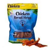 Natural Cravings USA Chicken Breast Strips Dog Treats, 12-oz Bag
