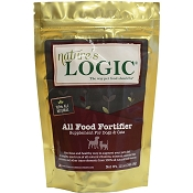 Natures Logic All Food Fortifier Dog & Cat Food Supplement. 12-oz Bag
