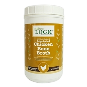 Nature's Logic Dehydrated Chicken Bone Broth for Dogs, 2-lb