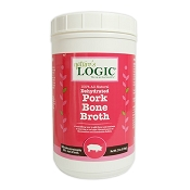 Nature's Logic Dehydrated Pork Bone Broth for Dogs, 2-lb