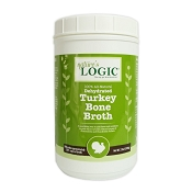 Nature's Logic Dehydrated Turkey Bone Broth for Dogs, 2-lb