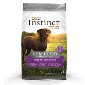 Nature's Variety Instinct Limited Ingredient Diet Rabbit Meal Formula Dry Dog Food