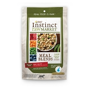 Nature's Variety Instinct Raw Market Beef Recipe Meal Blends Freeze-Dried Dog Food, 1-lb bag