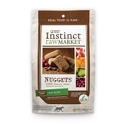 Nature's Variety Instinct Raw Market Lamb Recipe Nuggets Freeze-Dried Dog Food, 14-oz bag