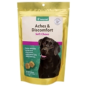 NaturVet Aches & Discomfort Dog Soft Chews Supplement, 30 count