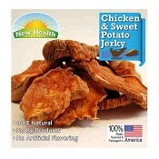 New Health Pet Products Chicken & Sweet Potato Jerky Wraps for Dogs, 4-oz Bag