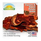 New Health Pet Products Turkey & Sweet Potato Jerky Wraps for Dogs, 4-oz Bag