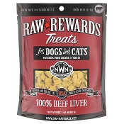 Northwest Naturals Raw Rewards Freeze-Dried Beef Liver Dog & Cat Treats