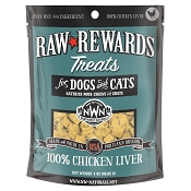Northwest Naturals Raw Rewards Freeze-Dried Chicken Liver Dog & Cat Treats