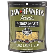 Northwest Naturals Raw Rewards Freeze-Dried Lamb Liver Dog & Cat Treats