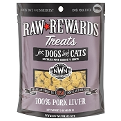 Northwest Naturals Raw Rewards Freeze-Dried Pork Liver Dog & Cat Treats