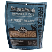 Northwest Naturals Turkey Recipe Freeze-Dried Cat Food