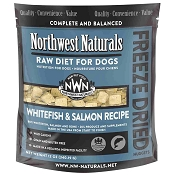 Northwest Naturals Whitefish & Salmon Recipe Freeze-Dried Dog Food, 11-oz Bag
