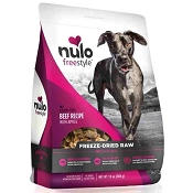 Nulo Freestyle Freeze Dried Beef with Apples Dog Food, 13-oz Bag