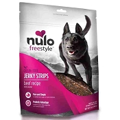 Nulo Freestyle Grain-Free Beef & Coconut Jerky Strips Dog Treats, 5-oz bag