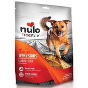Nulo Freestyle Grain-Free Turkey Recipe with Cranberries Jerky Strips Dog Treats, 5-oz bag