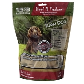 OC Raw Freeze-Dried Beef & Produce Sliders Dog Food, 14-oz Bag